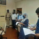 Goa Human Rights Commission Staff Took 'Rashtriya Ekta Diwas' Pledge On The Occasion Of Birth Anniversary Celebration Of Sardar Vallabhbhai Patel In The Office Premises