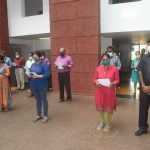 Staff Of Goa Secretariat Departments Took 'Rashtriya Ekta Diwas' Pledge On The Occasion Of Birth Anniversary Celebration Of Sardar Vallabhbhai Patel In The Office Premises
