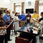 Collectorate North Goa Staff Took 'Rashtriya Ekta Diwas' Pledge On The Occasion Of Birth Anniversary Celebration Of Sardar Vallabhbhai Patel In The Office Premises