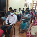 Panchayat Secretary and Ward Members At the Xeldem VGP Office, Quepem Taluka, South Goa