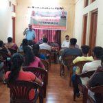 Panchayat Secretary and Ward Members At the Xeldem VGP Office, Quepem Taluka, South Goa.