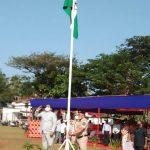 PWD Minister Shri Deepak Pauskar attended Goa Liberation Day celebrations at Dharbandora on December 19, 2020.