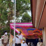 Panchayat Minister, Shri Mauvin Godinho attended Goa Liberation Day celebrations at Vasco on December 19, 2020.