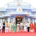 President Of India, Shri Ram Nath Kovind; First Lady, Smt Savita Kovind Visited The Mahalsa Temple, Verna On December 20, 2020. Also Seen Are Governor Of Goa, Shri Bhagat Singh Koshyari; Chief Minister, Dr Pramod Sawant; Dy. Chief Minister, Union MoS For AAyush, Shri Shripad Naik; Shri Chandrakant Kavlekar; MLA, Shri Wilfred D'sa And Committee Members Of The Temple Are Also Seen.