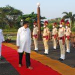 Speaker, Shri Rajesh Patnekar attended Goa Liberation Day celebrations at Assembly Complex Porvorim on December 19, 2020.