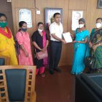 Anganwadi Representatives Meet CM