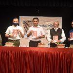 मुख्यमंत्री डॉ. प्रमोद सावंत यांच्या हस्ते श्री. वामन स. प्रभू लिखित 'मनोहर पर्रीकर ऑफ द रेकॉर्ड' पुस्तकाचे प्रकाशन केले