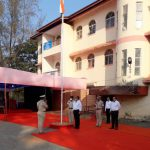 Dy Speaker Shri. Isidore Fernandes hoisted the National Flag at the taluka level Republic Day Celebration in Canacona