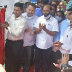 CM Inaugurates Railway Subways & Foot Over Bridge At Curchorem