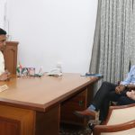 Chief Minister, Dr. Pramod Sawant Interacting With Consul General Of Sweden, Ms. Anna Lekvall During Her Courtesy Visit At Altinho Panaji On February 15, 2021.