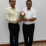 New IMB Chairman, Shri Dashrath Parab Called On Chief Minister, Dr. Pramod Sawant Of February 15, 2021.