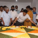 Chief Minister, Dr. Pramod Sawant Paid Floral Tributes To Goa's First Chief Minister, Late Dayanand B. Bandodkar On The Occasion Of The Latter's Birth Anniversary Observed At Miramar Samadhi On Mar. 12, 2021.