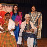 Smt. Sulakshana Pramod Sawant, President of Goa State Women Self Help Group Association attended the International Women's Day function at Panaji