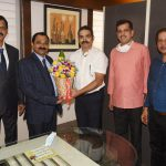 State Chief Information Commissioner took charge of office at Goa State Information Commission, Panaji on Mar. 2, 2021