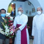 Arch Bishop Ferrao Call On GUV