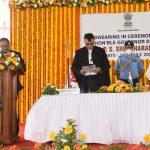 Shri P. S. Sreedharan Pillai Was Sworn In As The Governor Of Goa At An Simple Ceremony Held At Raj Bhavan, Dona Paula