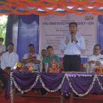 CM Visits Sanguem Constituency