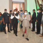 गोयचे राज्यपाल श्री. पी. एस. श्रीधरन पिल्लई हांनी राजभवन दोना पौला हांगा भारताच्या ७५ व्या स्वातंत्र्य दिनानिमित्त होम रिसेप्शन आयोजित केले.