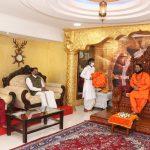राज्यपाल, श्री पी.एस. श्रीधरन पिल्लई हांनी श्री दत्त पद्मनाभ पीठ, श्री क्षेत्र तपोभूमी कुंडैमलाक भेट दिली
