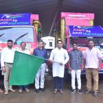 SHRI GOVIND GAUDE LAUNCHES MOVING FLOAT TO CREATE AWARENESS