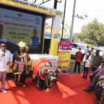 """Transport Minister, Shri Mauvin Godinho launched the 10th State Road Safety Week-2021, with the theme """"Think and Drive, Stay Alive"""" to be observed from October 25 to 31, 2021"""