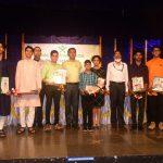 मुख्यमंत्री डॉ.प्रमोद सावंत हांच्या हस्ते राज्यस्तरीय गोमंत बाल भूषण पुरस्कार २०२० प्रदान करपा आयले