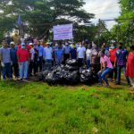 Salcete Taluka Sports & Youth Office Organize Cleanliness Drive