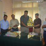 Welcome Of Shri Kedar A. Naik On His Posting As Jt. Director Of DIP